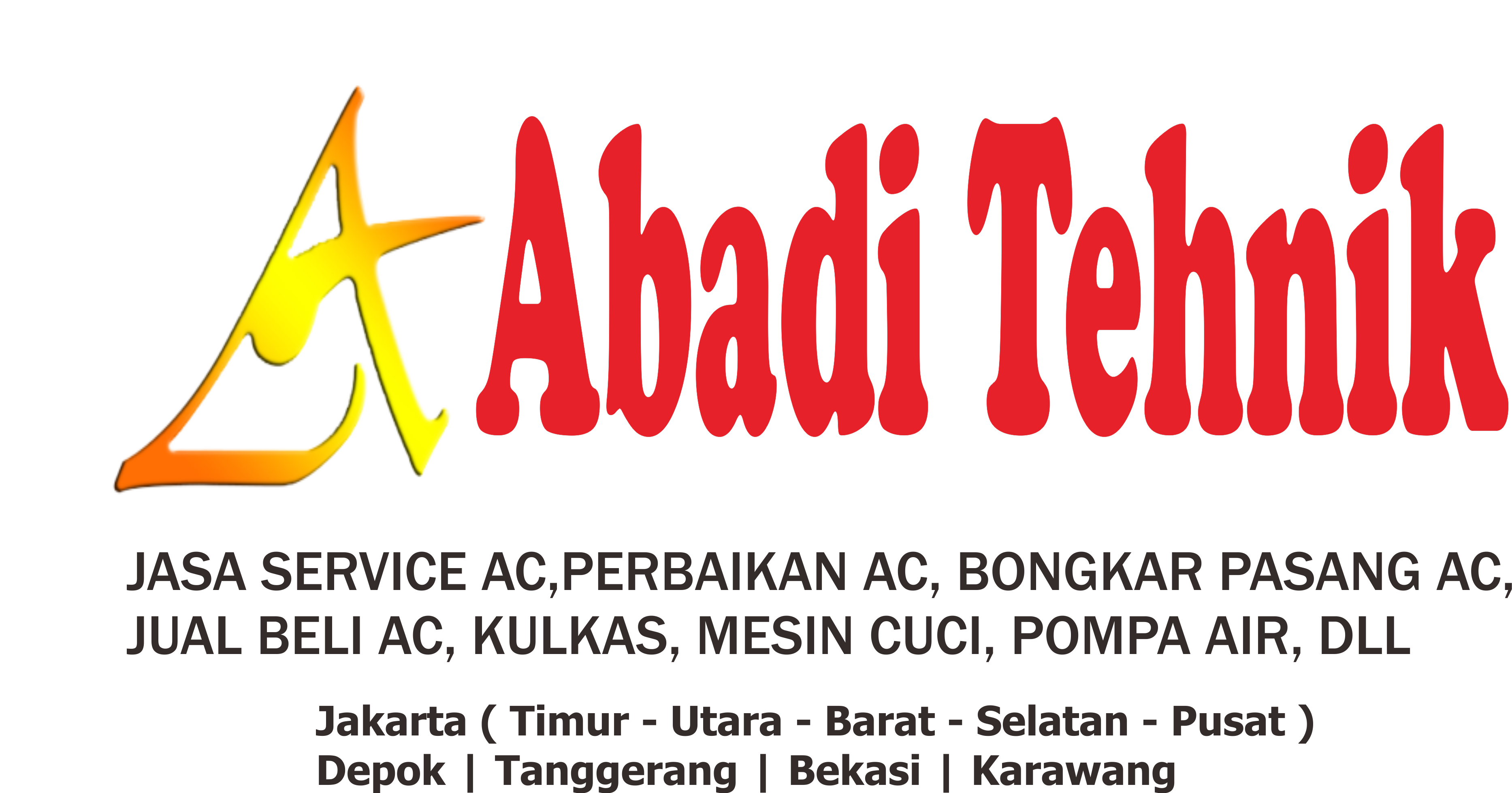 Jasa Service AC | Pemasangan, Perawatan, Bongkar Pasang, Penjualan & Perbaikan AC.